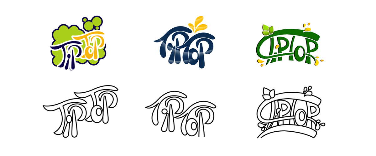 طراحی لوگو شرکت تیپ تاپ