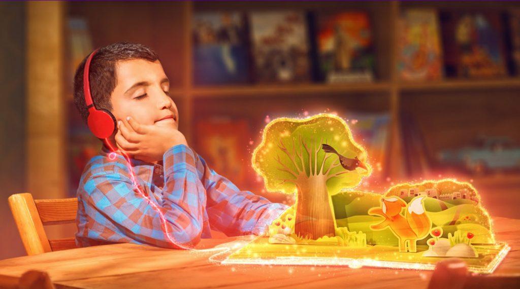 طراحی سایت کودکان امید سامسونگ