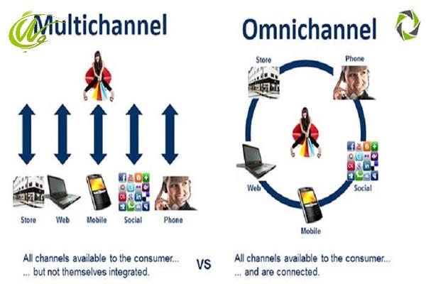 تفاوت بازاریابی اومنی چنل و مولتی چنل