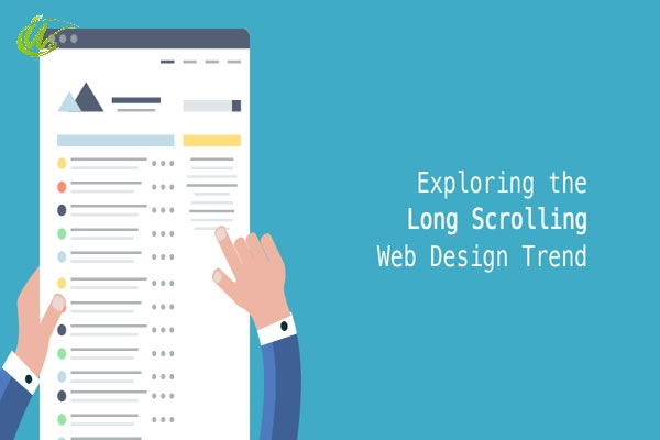 اسکرول در طراحی سایت