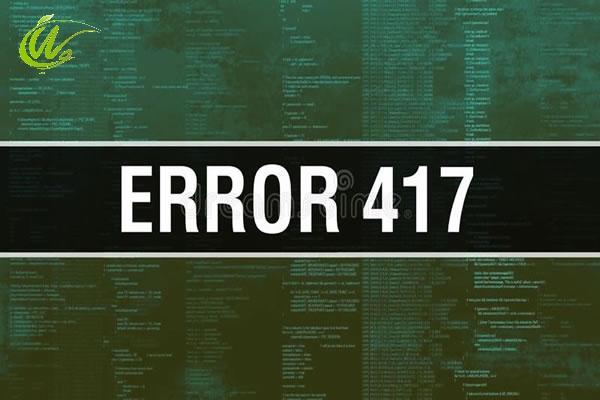 417 error