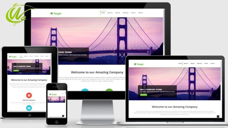 طراحی وب سایت واکنش گرا با bootstrap