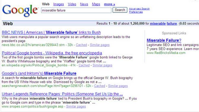 گوگل بمب